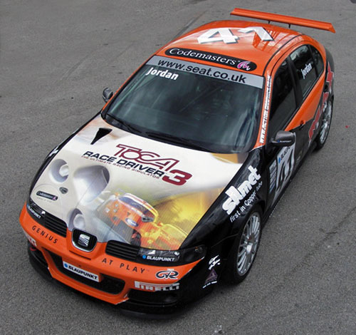 Codemasters and Max Power Livery